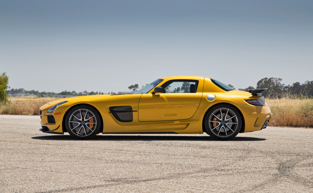 Mercedes-Benz SLS AMG Black Series 2014 года