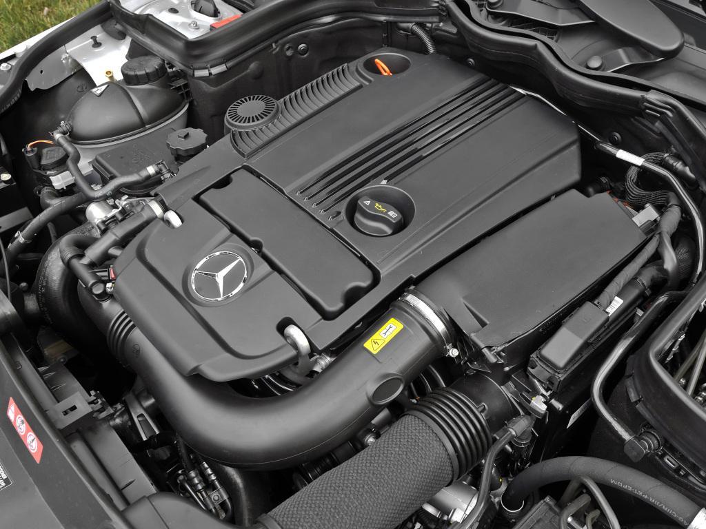 mercwdes-benz c250 w204 двигатель