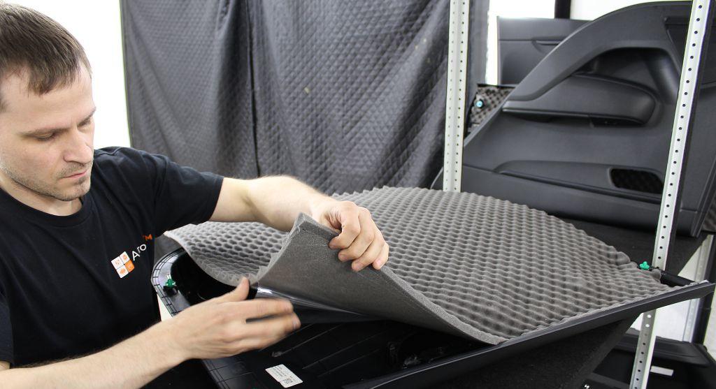 Звукоизоляция обшивки автомобиля