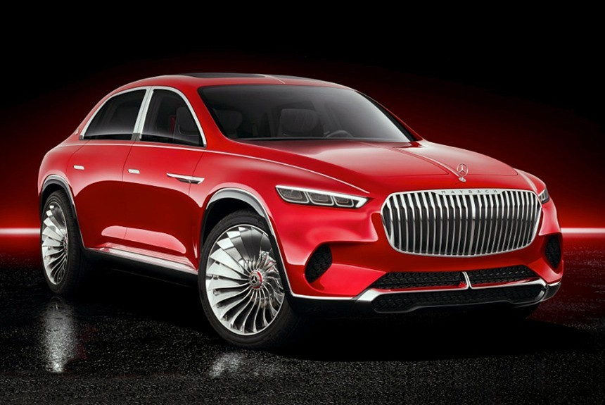 Vision Maybach Ultimate Luxury – концепт-кар
